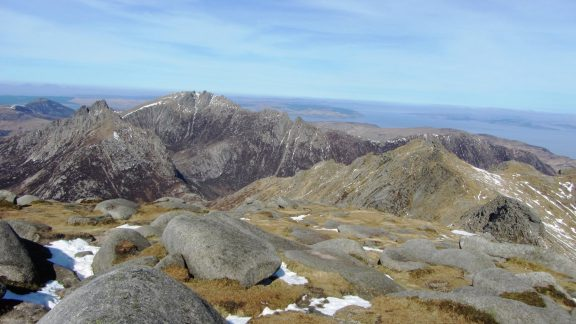 Walk 3 - View Northwest From The Summit Of Goat Fell