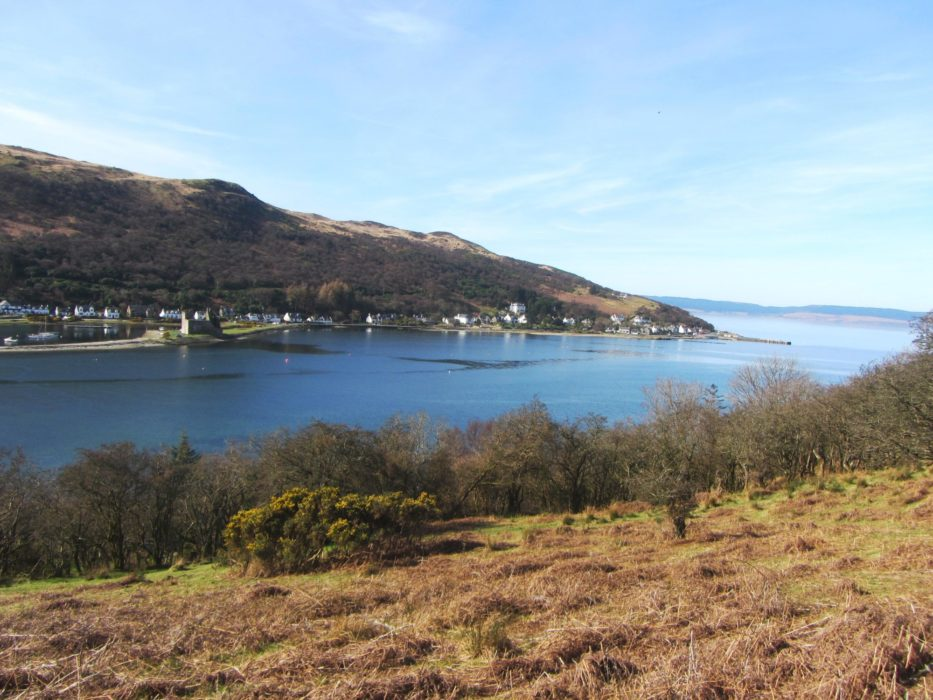 Walk 1 - Leaving Lochranza