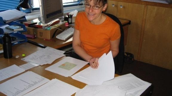 Lois was our Production Manager before Siân.