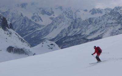 Skiing Banner