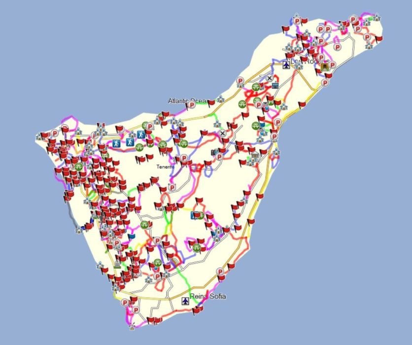 Dutch Walks In Tenerife - all 406 of them!