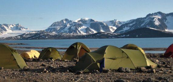 Trekking in Svalbard