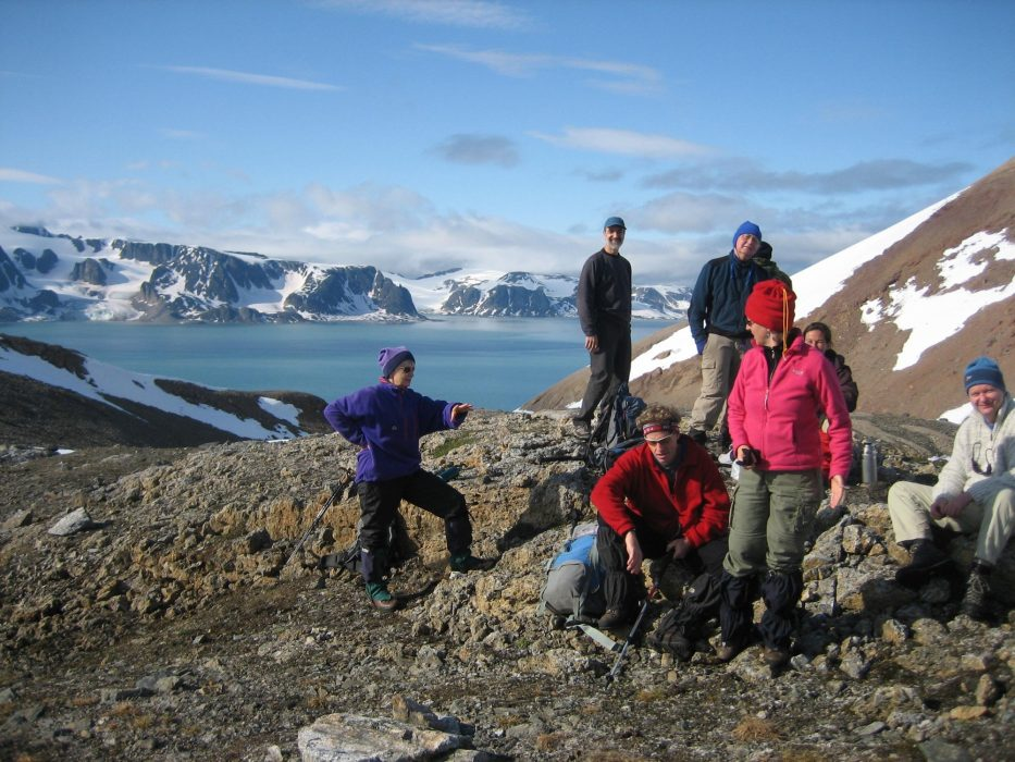 Approaching the first Arctic summit