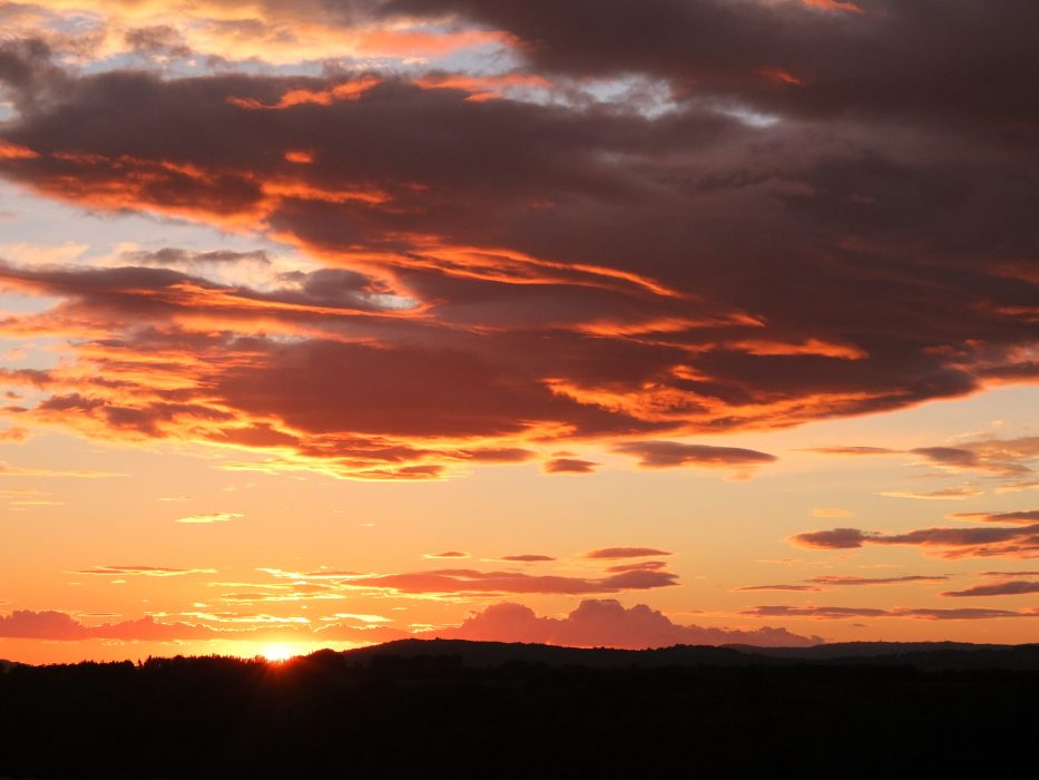 11 Glorious Sunset From Pitigliano