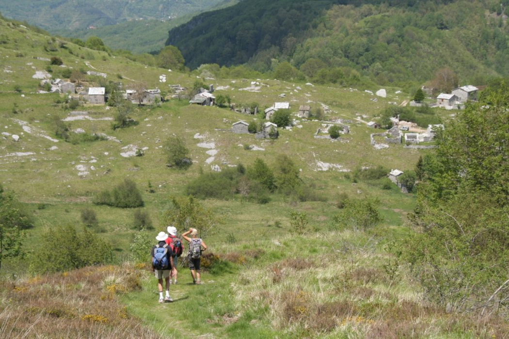 5 Return To Campocatino With Its Scattered Old Stone Herders Huts
