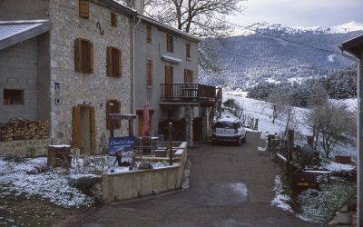 Morning at our Auberge, Comus