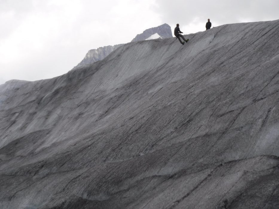 17 High Ridges Had Formed In The Ice Looking Like Sand Dunes