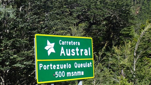 Carratera Austral Sign