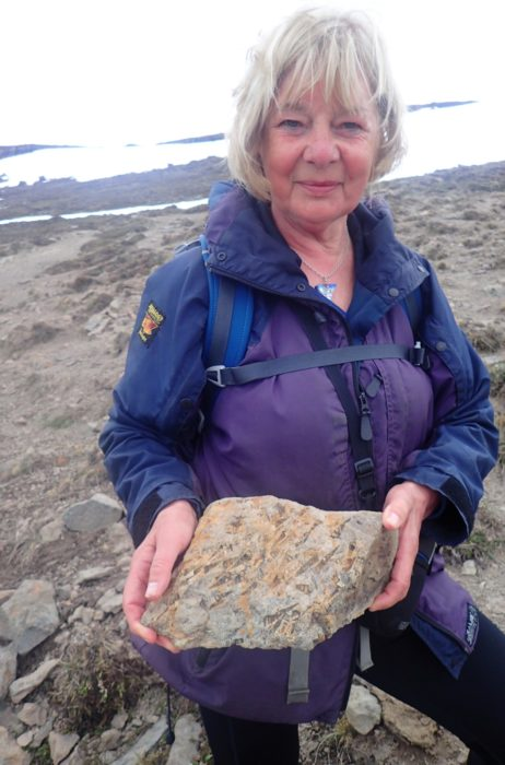 Fossil Find On The Fossil Walk