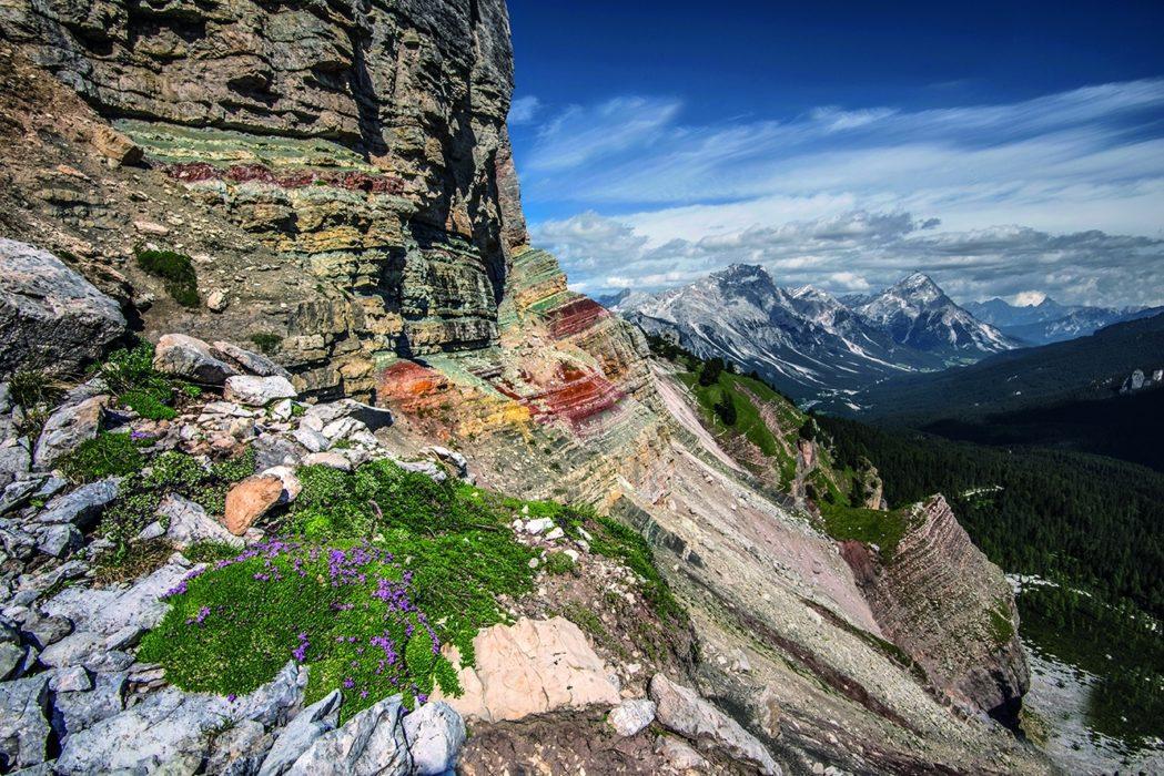086 Spectacular Geology On Sentiero Astaldi