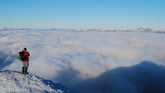 On The Northeast Ridge Of Ben Lomond