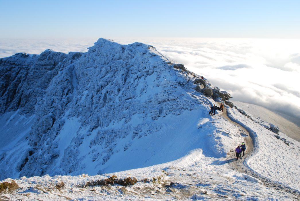 Ascending The South Ridge Ben Lomond