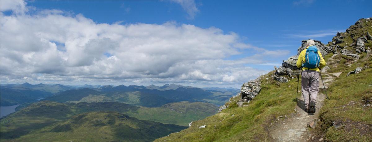 Summer Ascent Of The Northeast Ridge Ben Lomond