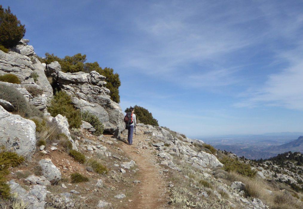 Sierra De La Nieves Ascent Towards Los Enamorados