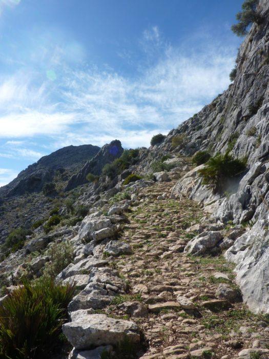 Andalucia Arab Footpath Close To Ronda