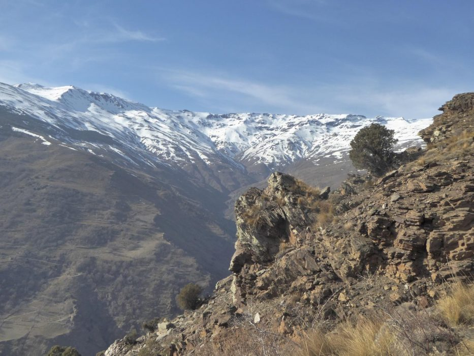 Alpujarras The Southern Flank Of The Sierra Nevada In Winter Jpg