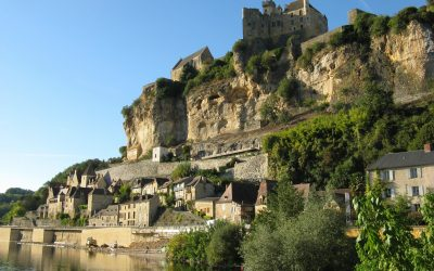 The fortified town of Beynac