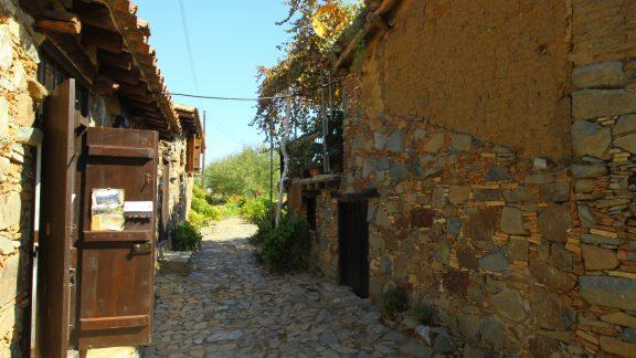 Narrow Street In Fikardou