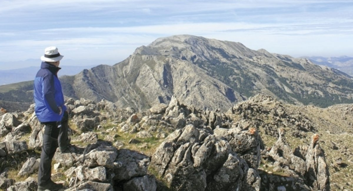 The Summit Of Malascamas With La Maroma Ahead