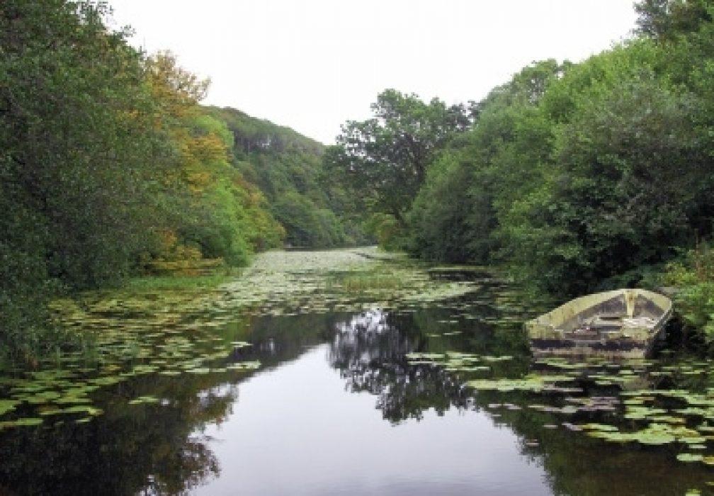 Lochan a' Ghurrabàin, Aros Park