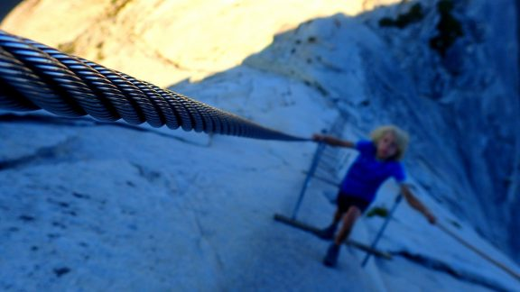 The Infamous Chains On Half Dome
