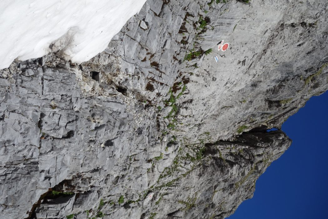 Cables And Ladders To The Col Des Ottans Rabbit Hole