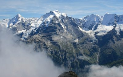 Oberland Giants On Show From The Schilthorn