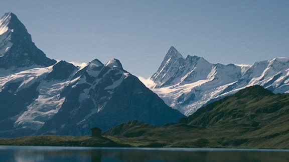 The Bachsee Must Be One Of The Loveliest Of All Alpine Lakes Banner