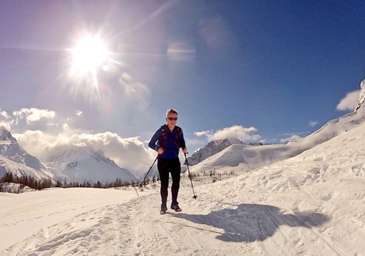 Winter trail running adventures in Chamonix