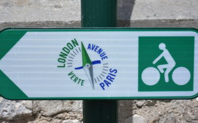 P007 Avenue Verte Is A Waymaked Veloroute In France