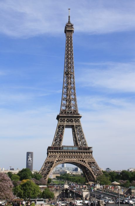 P011   To The Eiffel Tower In Paris Making It A Tower To Tower Route