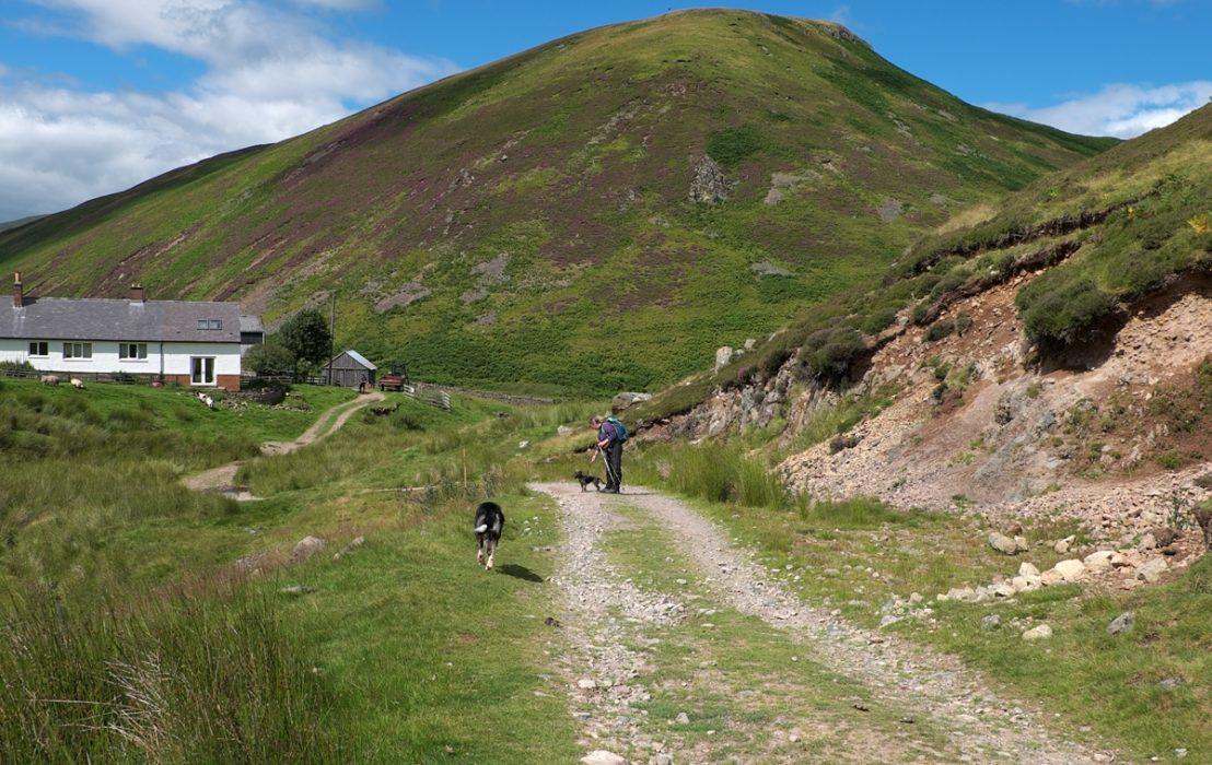 10 Salters Road Drops Towards Low Bleakhope