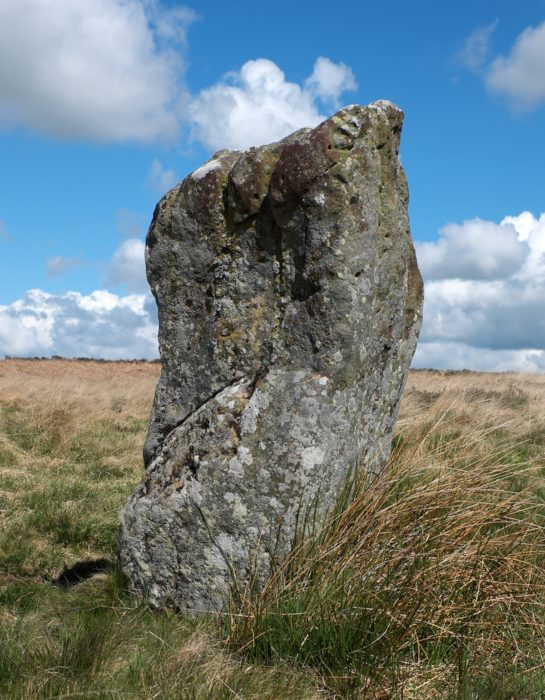 2 A Single Upright Stone Is All That Remains Of A Stone Circle On Doddington Moor