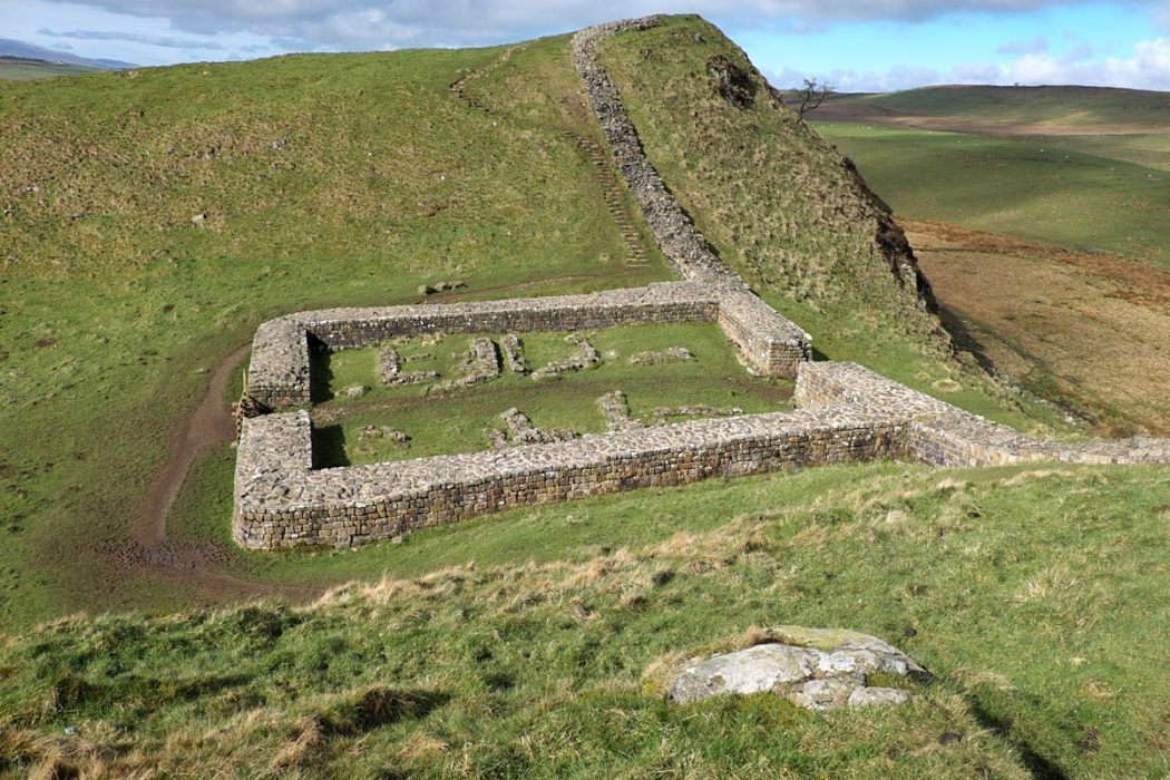 8 Milecastle On Hadrians Wall