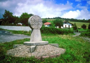 Meeting Point Of Three French Routes At Hiriburia