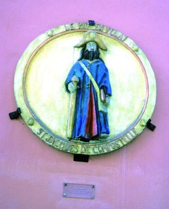 Modern Medallion Of St James As A Pilgrim, Le Puy