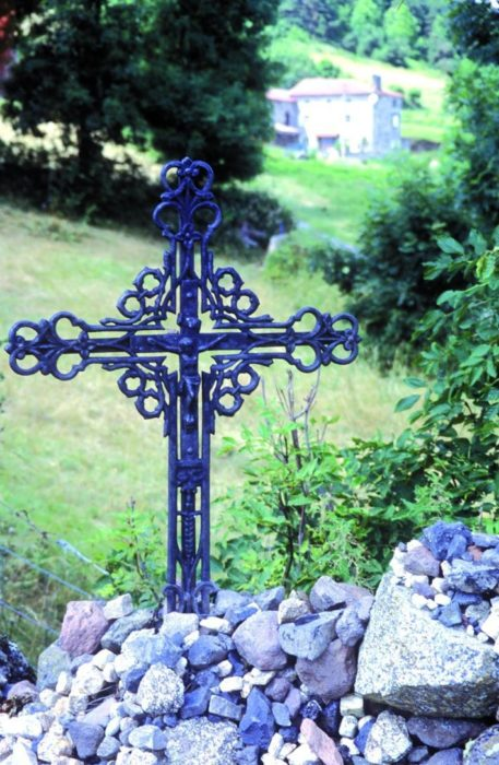 Typical Metal Wayside Cross