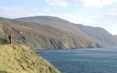 10 Cronk Ny Arrey Laa Hill Of The Morning Watch Overlooks Niarbyl Bay