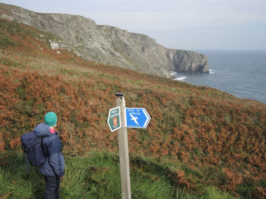4 Waymark Signs Are Frequent Along The Path