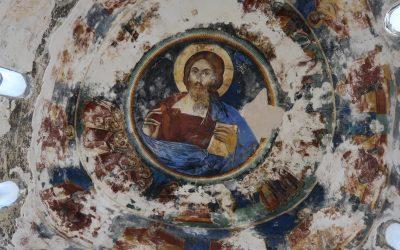7  Damaged Frescoes Inside The Dome