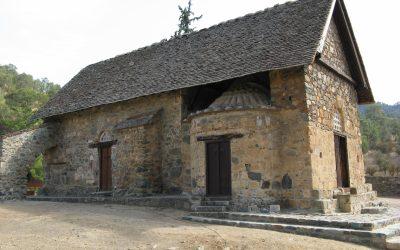 9  Barn Like Exterior Of Asinou Church