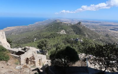 4  View Eastwards From Kantara Castle