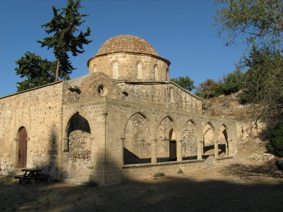 6  Domed Exterior Of Antiphonitis Church