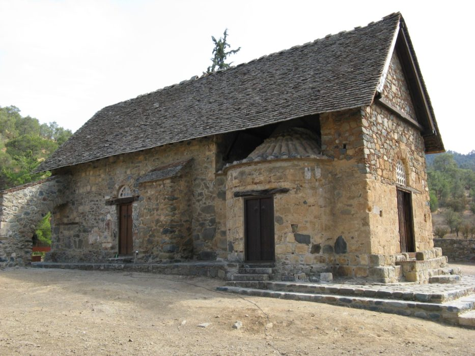 9  Barn Like Exterior Of Asinou Church