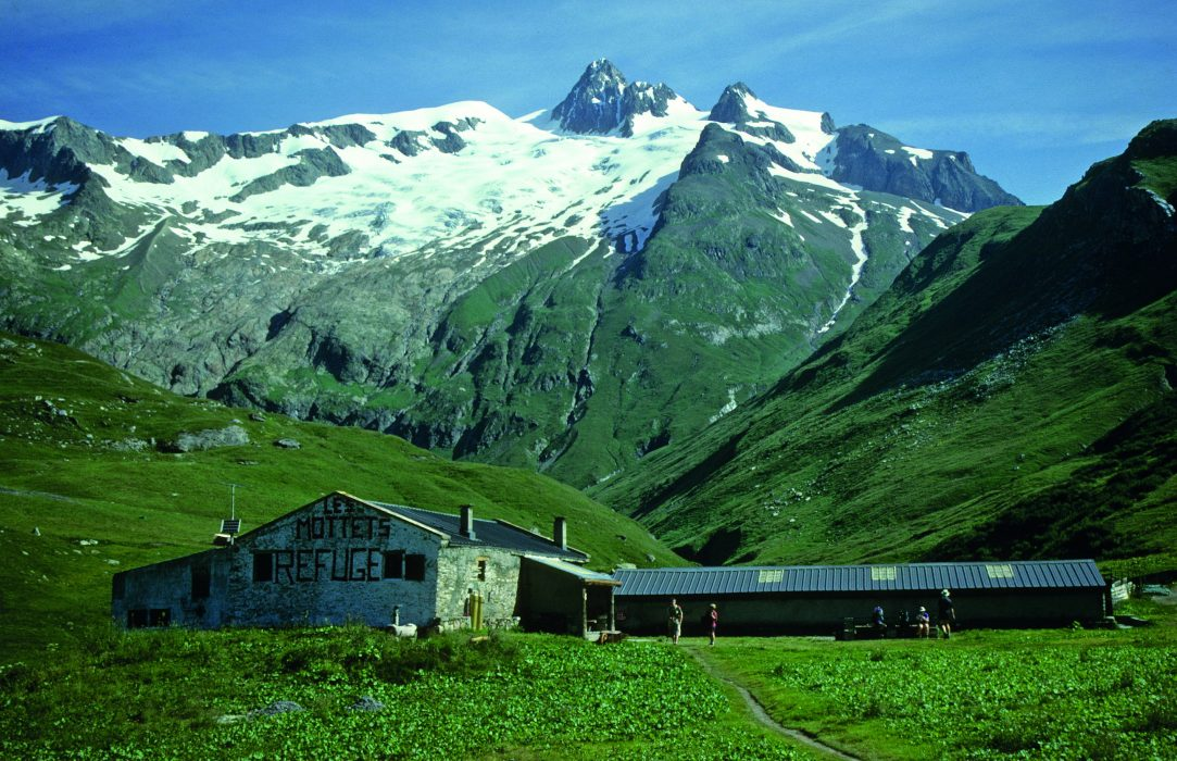 The Refuge des Mottets is a converted dairy farm, with beds in what used to be the milking parlour