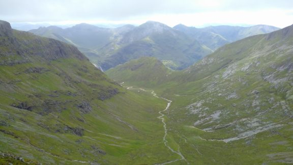 Looking South To The Mamores After The Descent From The Aonachs