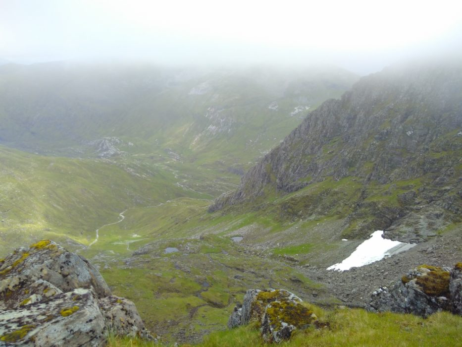 The Bealach Between The Aonachs