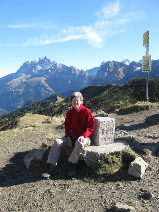 4  Border Stone At Col De Cou