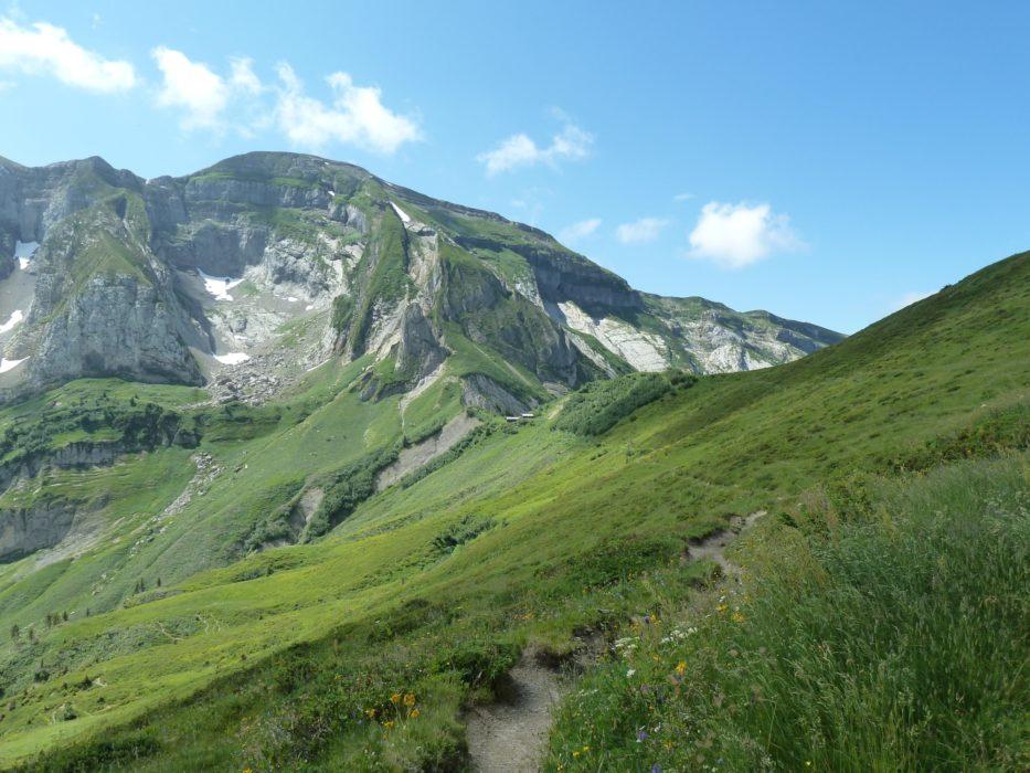 5  The Border Ridge Between Col De Cou And Col De Bretolet