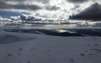 The day was so clear we could see all the way down Loch Linnhe